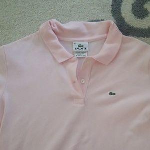 Wimebs pink short sleeve shirt